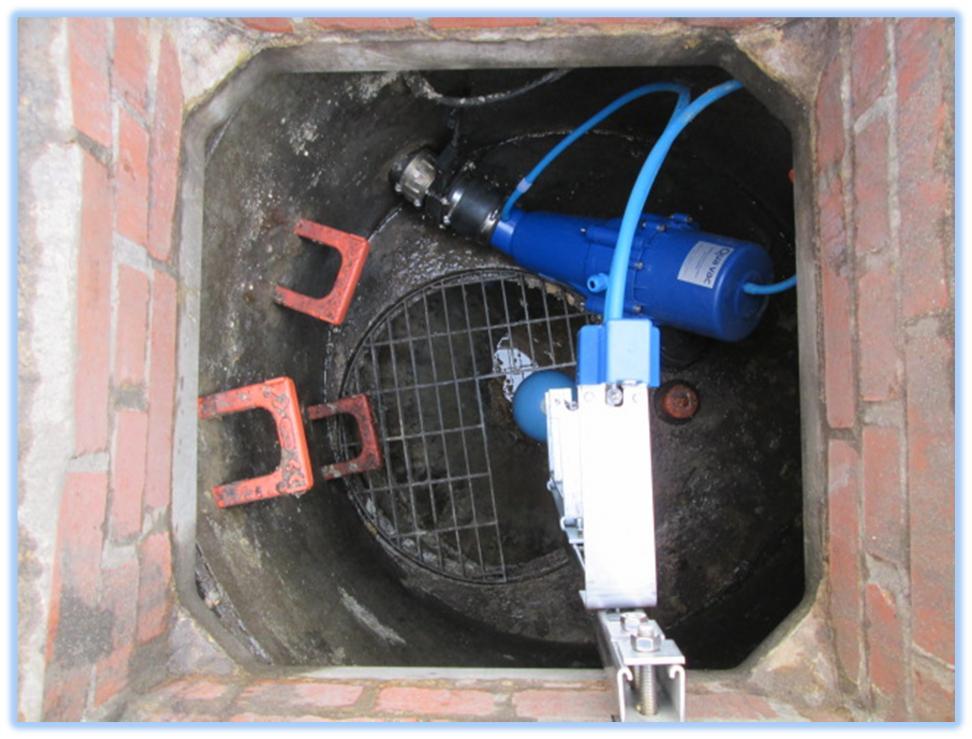 Válvula de vacío sumergible de Sewerva-Quavac