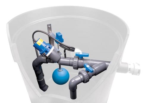 Válvula de vacío Vacuflow, Sewervac