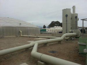 Tecnología Uni-AdSorber sin mantenimiento, para la sustitución del carbón activo de las torres de desodorización